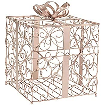 Amazon.com: Cathys Concepts Reception Gift Card Holder – Rose Gold ...