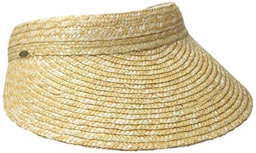 scala-womens-sewn-braid-visor-natural-one-size