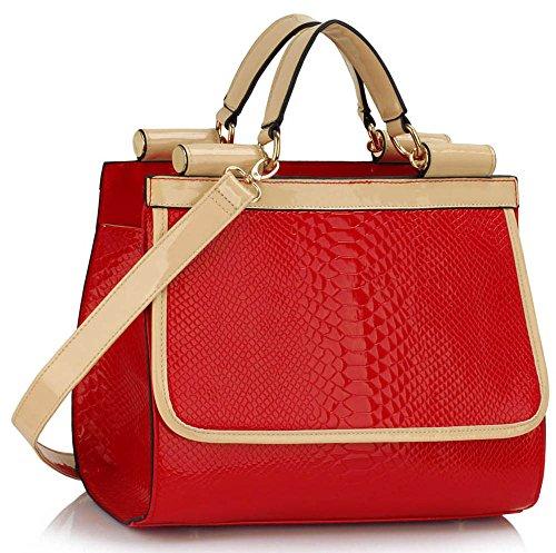TrendStar - Bolsos Mujer Z - Red
