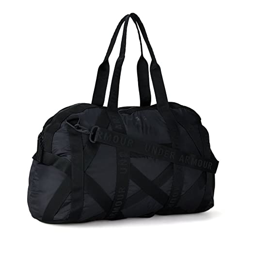 0fead9a925ca1f Under Armour Womens This Is It Gym Bag, Black (001)/Metallic Faded