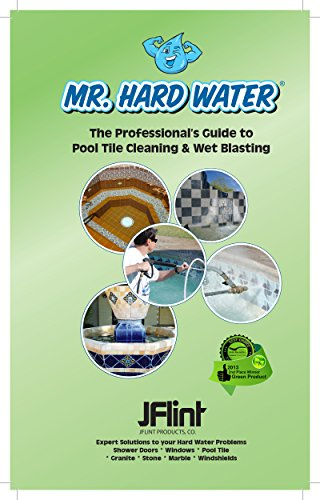 Mr. Hard Water MAN - 101 How to Clean Pool Tile Like the Pros Guide ()
