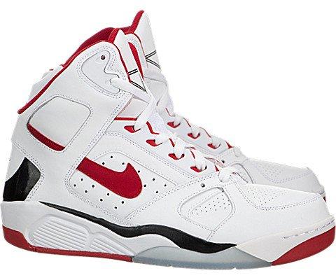 affe1e14d4533 Nike Air Flight Lite High Mens Basketball Shoes 329984-103 White ...