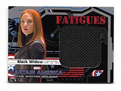 2014 Upper Deck CAPTAIN AMERICA Winter Soldier Fatigues Costume F4 Black - Of Costumes 2014