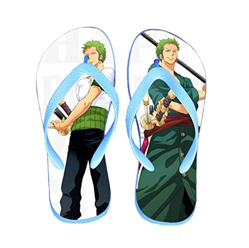 Bromeo One Piece Anime Unisex Flip Flops Chanclas 356