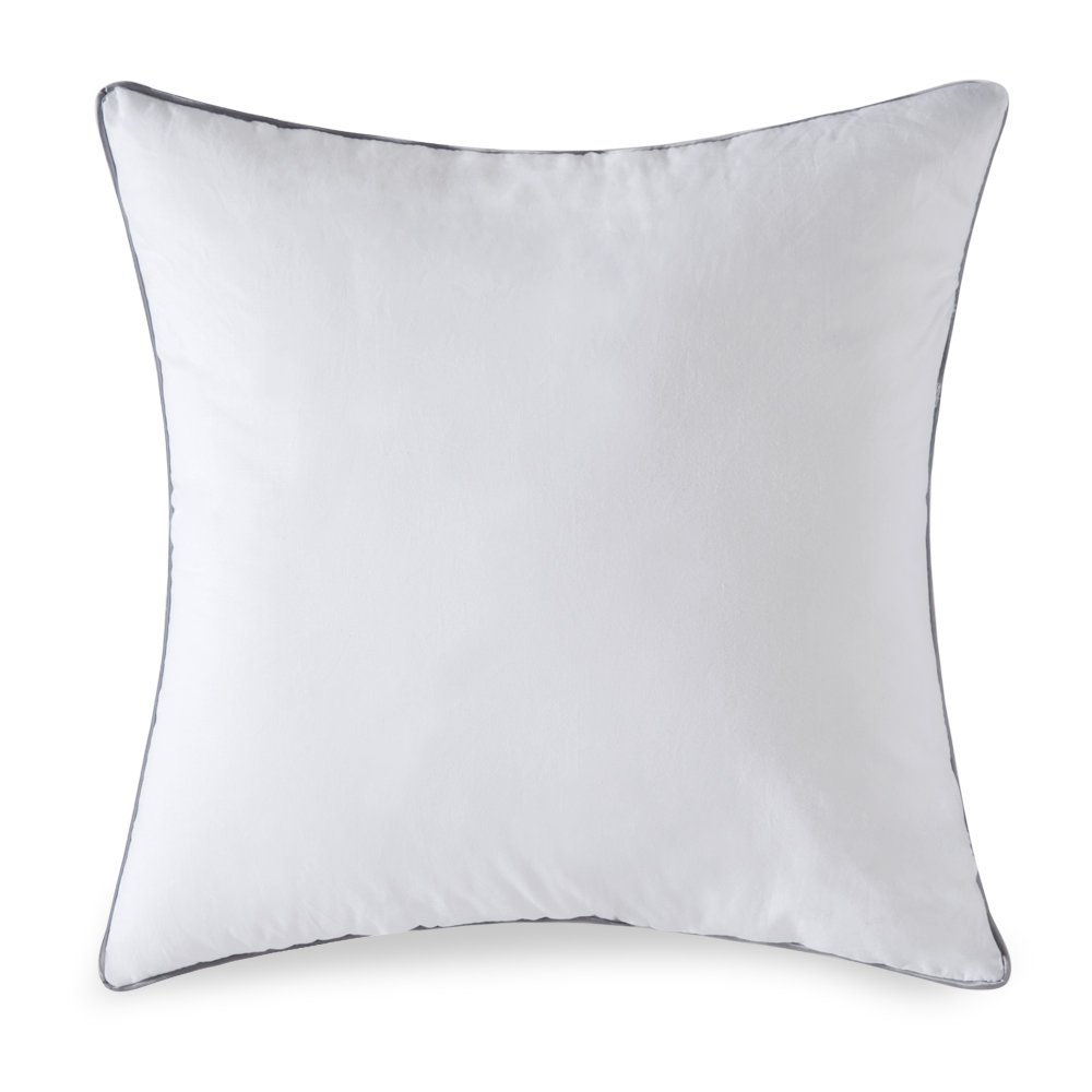 MIULEE Decorative Pillow Insert Form Sham Adjustable Cushion Square Throw Pillows for Sofa Bed 20'' L x 20'' W,50 x 50 cm/White