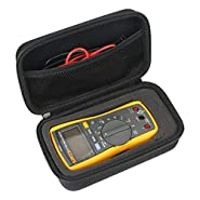 Hard Case for Fluke 117/116/115/114/113 Digital Multimeter and Fluke F15B+F17B+F18B+ by khanka