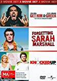 Get Him to the Greek / Forgetting Sarah Marshall / Knocked Up | 3 Discs | NON-USA Format | PAL | Region 4 Import - Australia