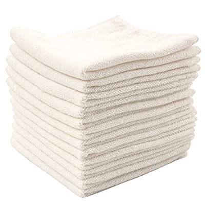 Dry Rite Best Magic Microfiber Cloth - Professional Series Cleaning Towels for Fine Auto Finishes, Interior, Chrome, Kitchen, Bath, TV, Glass- Non Scratching, Streak Free, Use Wet or Dry - 12