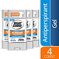 4-Count Right Guard 4-oz Xtreme Defense Antiperspirant Deodorant Gel