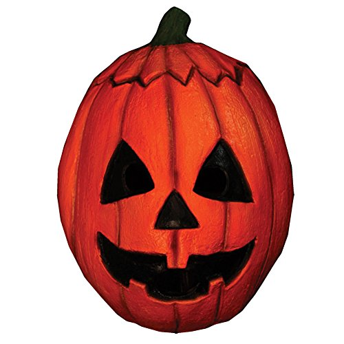 [Halloween III Pumpkin Mask] (Adult Pumpkin Halloween Costumes)