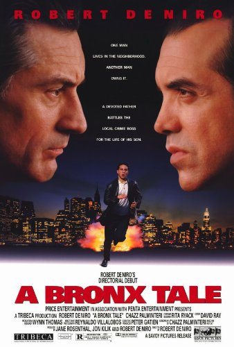A Bronx Tale - Robert De Niro Chazz Palminteri Movie Poster