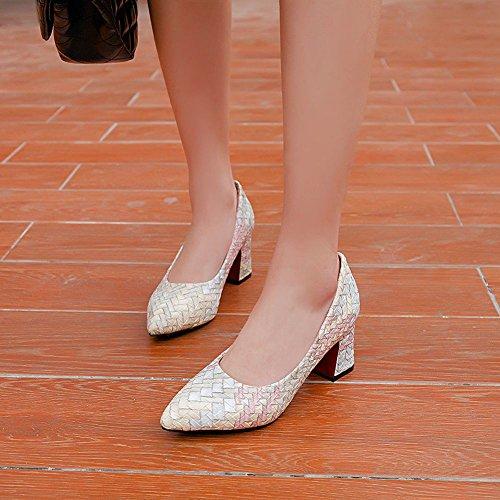 Scarpe Da Donna Col Tacco Alto Eleganti Scarpe Col Tacco Alto Carolbar Blu Chiaro