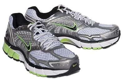 Nike Men's NIKE ZOOM VOMERO+ 4 RUNNING SHOES 11 (WHITE/BLACK/MET GREY/SILVER)