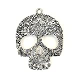 skull accessory scarves charms, skull pendant for jewelry scarf, PT-505