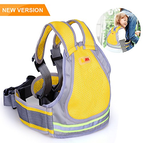 Seat Baby Motorcycle - Jolik Child Motorcycle Safety Harness with 4-in-1 Buckle, Breathable Material in Yellow