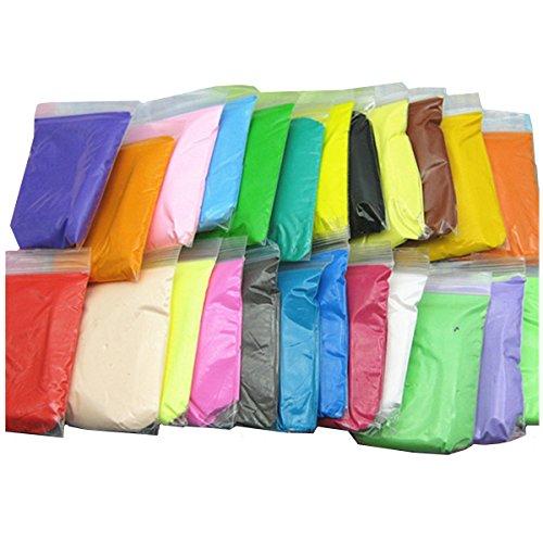 Bag package Handmade DIY Soft Polymer Foam Modelling Clay Set Snow Pearl Mud Plasticine