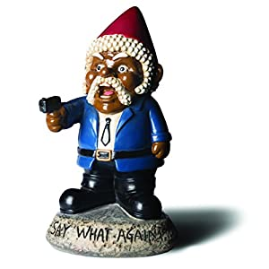 Amazoncom BigMouth Inc Say What Again Garden Gnome Statues