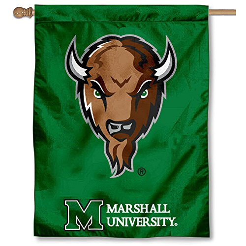 - College Flags and Banners Co. Marshall University Thundering Herd House Flag