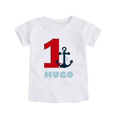Camiseta o Body Primer / 1er Cumpleaños 1 año Marinero para Bebes ...