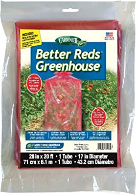 Gardeneer By Dalen Better Reds Greenhouse Cover for Tomatoes