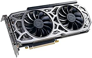 EVGA GeForce GTX 1080 Ti SC2 Gaming, 11GB GDDR5X, iCX Technology - 9 Thermal Sensors & RGB LED G/P/M, Asynch Fan, Optimized Airflow Design Graphics ...