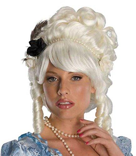 Popcandy Marie Antoinette Wig Renaissance Costume Wig French Renaissance Wig Rubies 51776 (Child Marie Antoinette Costume)