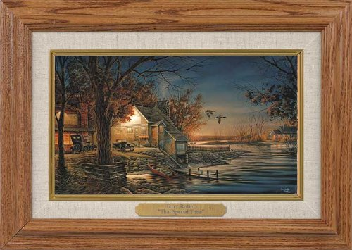 That Special Time Framed Oak Collage by Terry Redlin