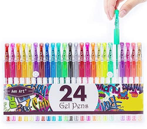 Glitter Colored Markers Coloring Doodling product image