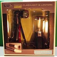 Lux Series 2-pc. LED Tripod Flashlight& Lantern Set by Lux Series