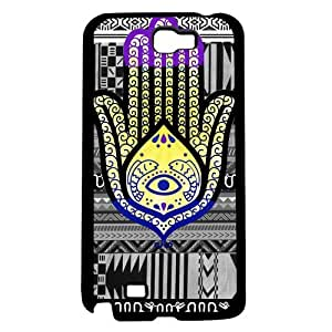 Colorful Evil Eye Hand of Mary Hard Snap on Phone Case (Note 2 II)