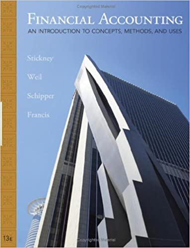 Amazon financial accounting an introduction to concepts amazon financial accounting an introduction to concepts methods and uses 13th edition available titles cengagenow ebook roman l weil fandeluxe Images