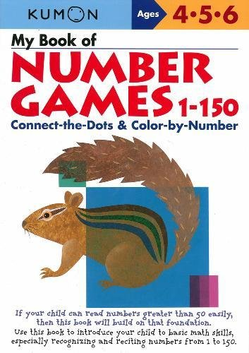 Kindergarten Counting Game - My Book of Number Games, 1-150 (Kumon Workbooks)