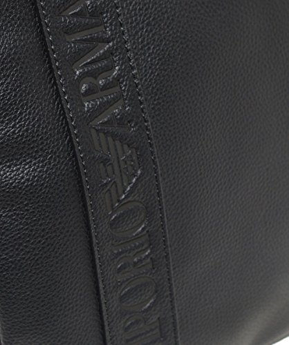 Black Armani Messenger Black Flat Men's Bag Large UTwpTBqA