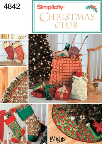 - Simplicity Sewing Pattern 4842 Holiday Décor, One Size