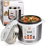 MasterChef 13-in-1 Pressure Cooker- 6 QT Electric Digital...
