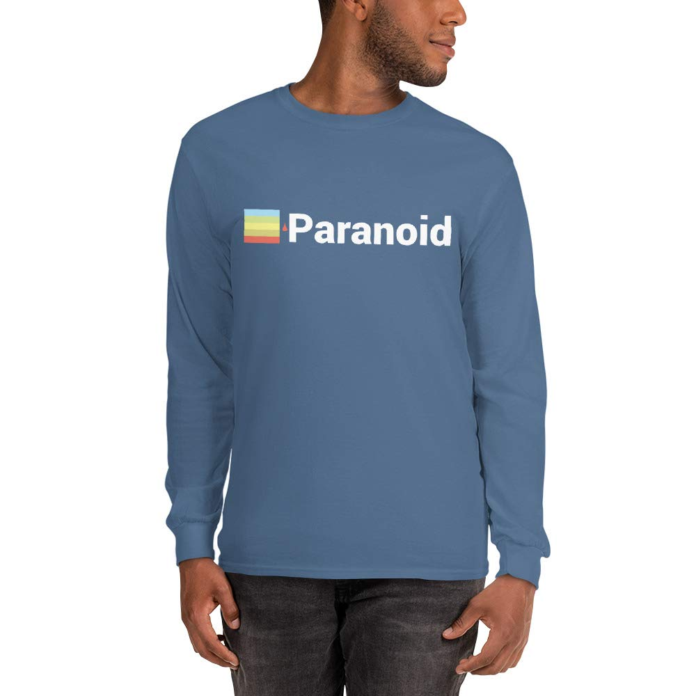 Done by Dom Paranoid Graphic Cotton Long Sleeve T-Shirt
