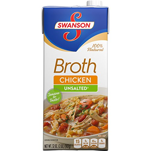 Swanson Unsalted Chicken Broth Ounce