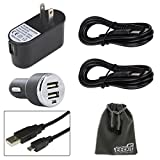 EEEkit Charger Kit for Samsung Galaxy S3/S4/S5 Note 2/3/4 Mega 6.3 LG G3/G2 Dell Venue 8/8Pro Lenovo IdeaTab A1000/Miix2 Acer ICONIA A1-810/Tab A700 Transformer Book T100 Asus MeMO Pad 100 ME102 MeMO Pad ME176CX/ME172V MeMO Pad ME301T/ME302 Asus Transform