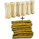 Bonestix Dog bone (3-inch x 6 Pcs) + 120 Gms Chicken Stick