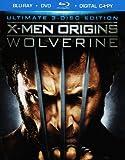 X-Men Origins: Wolverine - Ultimate 3-Disc Edition (Blu-ray + DVD + Digital Copy)