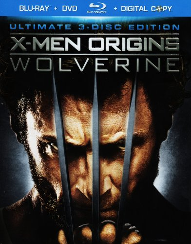 X-Men Origins: Wolverine - Ultimate 3-Disc Edition (Blu-ray + DVD + Digital Copy)
