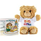 PlushAndToys Big Sister Gift Set – Includes a Teddy Bear and The New Baby Book by Mercer Mayer