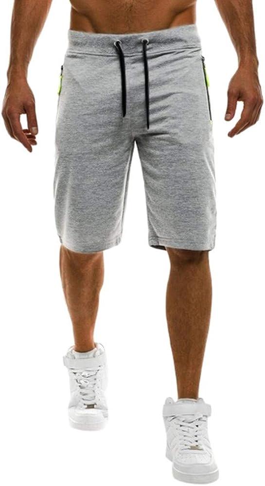 Pantalones Cortos de Hombres Rectos Deportivos Cortos de Verano ...