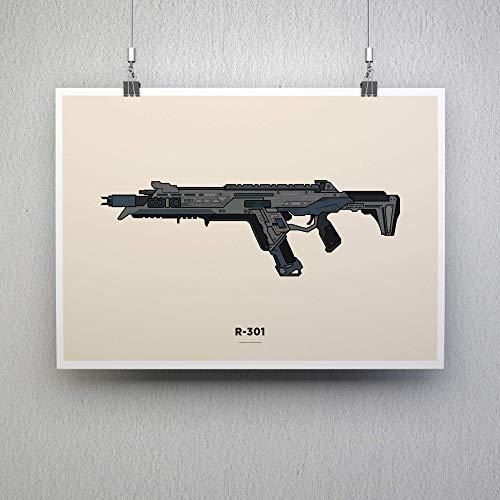 R-301 Illustration - Gaming Poster