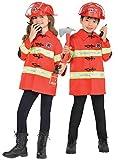 Firefighter Kit Kids Fancy Dress Fire Brigade Uniform Boys Girls Child's Costume