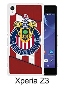 Popular Sony Xperia Z3 Case ,Chivas USA 06 white Sony Xperia Z3 Cover Beautiful And Durable Designed Case