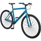 "26"" Mongoose Hex Mens Fitness Bike, Matte Blue"