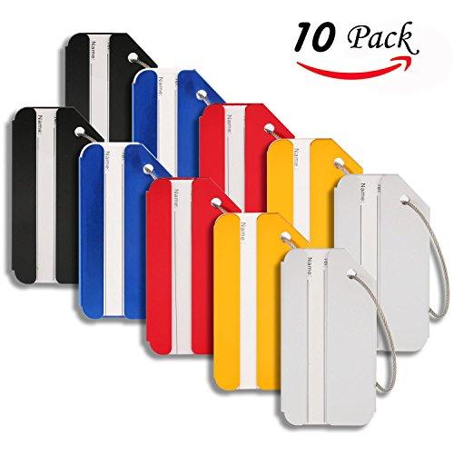 Landisun Bag Tags, Luggage tags For Baggage Tags Travel Tags ID Card...