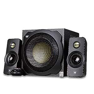 Woxter Big Bass 260 - Altavoces multimedia 2.1, potencia 150W, color negro