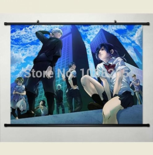 Anime family Japan Anime Home Decor Wall Scroll Poster Tokyo Ghoul Ken Kaneki Halloween